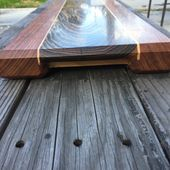 Hand Made Bocote & Mahogany Cutting Board