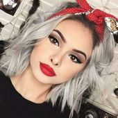 50+ Cute Hairstyles for Brief Hair in 2019