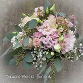 Brautstrauß zart rosa   – Brautsträuße