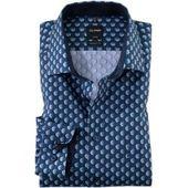 Olymp Luxor Shirt Cf Design Hellblau Olympolymp