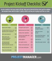 Checkliste für den Projektstart – #Checkliste #den #für #management #Projektst…