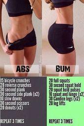 Pour votre entraînement quotidien BUM et Abs et découvrez Lose Weight Naturally – …