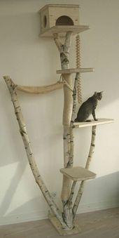 L'arbre à chat – un terrain d'aventures et de repos pour votre ami – Archzine.fr