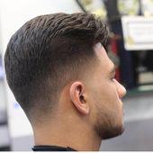 Esmer Erkek Sac Modelleri 2017 2018 Sezonu Esmer Erkekler Ten Renginin Koyulugu Yaninda Sac Ve Sakallarinin Da S Faded Hair Thin Hair Men Mens Haircuts Fade
