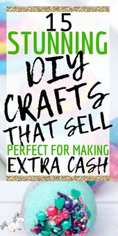 15 Awesome DIY Crafts That Sell Every Time! Handwerk ualp