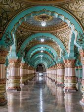 Mysore Palace – a must for any visit to southern I…
