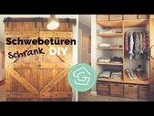 Board Door DIY – build your own wardrobe – install the door …