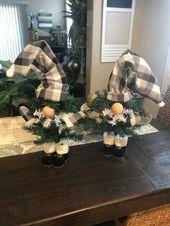 Dollar Tree Gnome Christmas Tree DIY