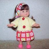 Vêtements pour poupées de 20 cm ou corolle portant une jupe rouge   – Jupes
