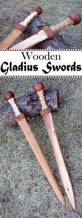 Hölzerne Gladius Schwerter