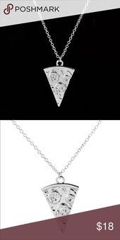 🎅🏻Pizza-Liebhaber-Halskette Wer liebt Pizza nicht? Diese süße Pizzastück …
