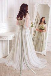 Ärmlös brudtärna klänning – Braut