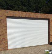 Roller Shutter Garage Door In White 2020