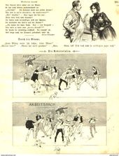 Die Arbeitslosen Cartoon Entnommen Aus Zeitschrift 1901 Artikelnummer 487376577 Mit Bildern Zeitschriften Comic Bucher