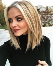 10 Stylish & Sweet Lob Haircut Ideas, Shoulder Length Hairstyles 2020