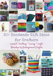 Más de 30 regalos hechos a mano para artesanos