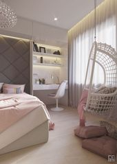 558e6f4fc21680f63d30f3ea0ca2b374 - 65+ Cute Teenage Girl Bedroom Ideas That Will Blow Your Mind