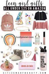 Top Teen Girl Geschenke unter 25 $ wie Adidas Ruck…