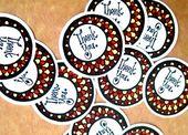 Free printable fall/Thanksgiving-esque thank you circle