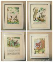 Little Golden Book wall art – turn old children's books into wall art! – repurposed loves