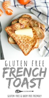 Gluten Free French Toast for these lazy weekend breakfasts. Simply because we're …