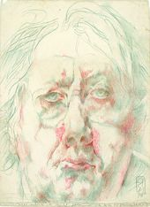 Dies möchte ich nicht sein (This I Do Not Wish to Be) by Horst Janssen on Curia…