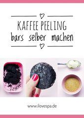 DIY Kaffee Peeling Bars – Kaffee Peeling Bar selber machen