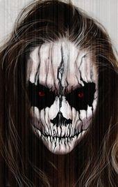 30 Amazing Halloween makeup ideas