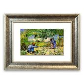 East Urban Home Framed Poster Getting Started by Van Gogh | Wayfair.de