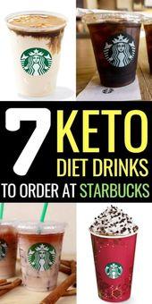 Probieren Sie diese kohlenhydratarmen Keto-Starbucks-Getränke, Eiskaffee, Latte, Americano, Macha …