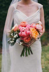 20 rosa Hochzeitssträuße   – Bouquets