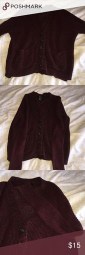 Rosenholz burgund Strickjacke der gemütlichsten Rosenholz burgund Strickpullover …, #americ … – Amerikanische Bekleidung