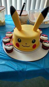 Festa Pokémon Go- Bolos e Dicas de Decoração