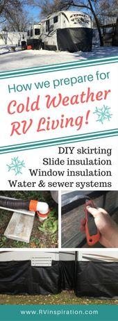 Hur vi förbereder vår husvagn för kallt väderliv   RV Inspiration