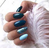 Entzückende modische Nagellackfarbe 2018