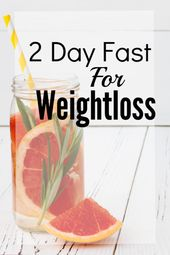 2 Day Fast For Weightloss