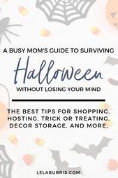 Der Leitfaden einer beschäftigten Mutter, um an Halloween gesund zu bleiben