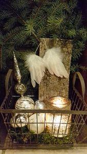 Photo of Atmosphärischer Weihnachtswald … das war die Idee für die Flurdekoration …