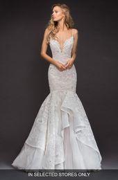 Frauen Hayley Paige Ronnie verschönert Meerjungfrau Kleid, Größe nur im Laden – Elfenbein – Products