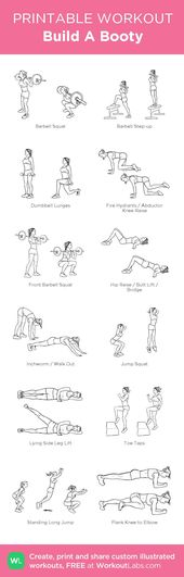 #AestheticButtockSurgical-Build A Booty: Mein visuelles Workout wurde bei Workou…