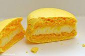 Zitronen Macarons con Vainilla Limón Vainilla Macarrones   – Macarons