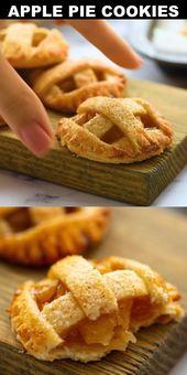 Apfelkuchen Cookies