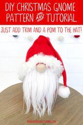 DIY Christmas Gnome Sample