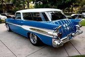 1957 Pontiac Safari   American muscle cars – Classic cars and Trucks – Chevrolet…