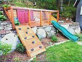Ideen für abfallende Gärten, die den Hang zum Vorteil machen » Wohnideen für Inspiration