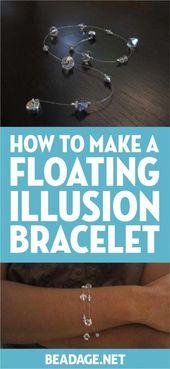 Photo of Maak deze zwevende illusie armband vanavond! Dit eenvoudige armbandproject is een …