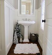 30+ Funny Winter Bathroom Decorations