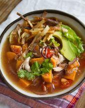 Mexikanische Hühnersuppe