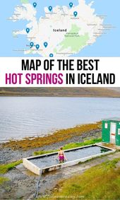 Map Of The 10 Finest Sizzling Springs In Iceland That Will Blow Your Thoughts | Iceland scorching…
