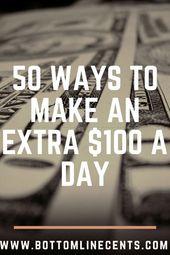 50 beste Möglichkeiten, um jetzt schnell Geld zu verdienen – Money Making Ideas